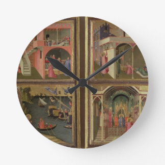 Four Scenes from the Life of St. Nicholas: St. Nic Round Clock