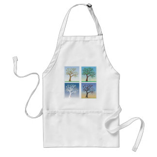 Four Season Dogwood Tree Apron