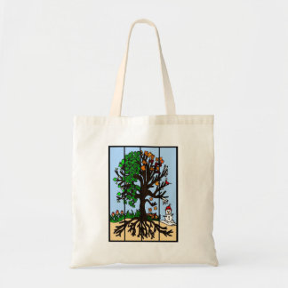 Four Season Tree Tote Bag