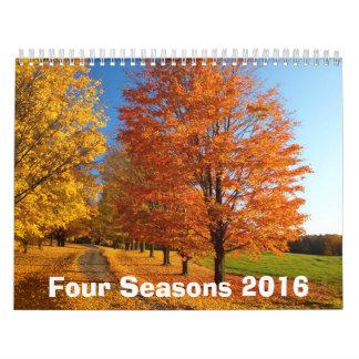 Four Seasons 2016 Calendar