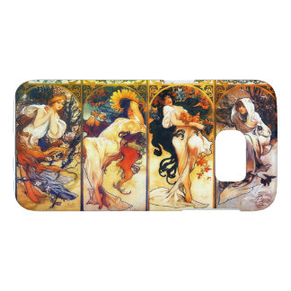 Four Seasons 2 vintage Mucha Samsung Galaxy S7 Case