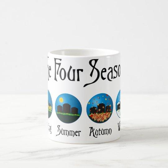 Four Seasons At The Cemetery Coffee Mug