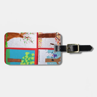 Four Seasons Bag Tag