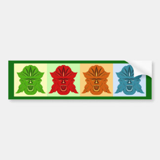 Four Seasons Bumper Sticker