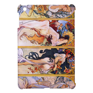 Four Seasons by Alphonse Mucha 1895 Case For The iPad Mini