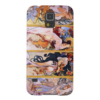 Four Seasons by Alphonse Mucha 1895 Galaxy S5 Case
