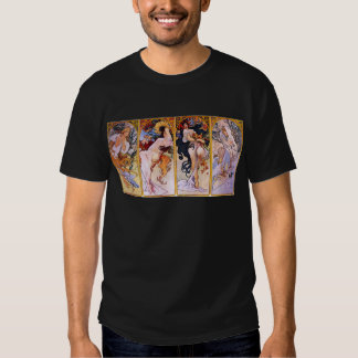 Four Seasons by Alphonse Mucha T Shirt