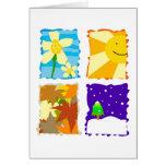 Four Seasons Cards
