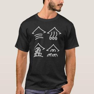 Four Seasons, Chinese hieroglyph(Dongba) T-Shirt
