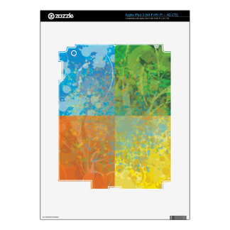 Four Seasons Decal For iPad 3
