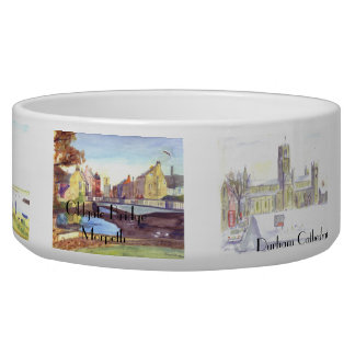 Four Seasons in Northumbria Dog Bowl