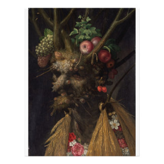 Four Seasons in One Head - Giuseppe Arcimboldo Flyer
