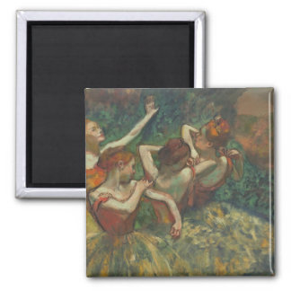 Four Seasons in the One Head, c.1590 2 Inch Square Magnet