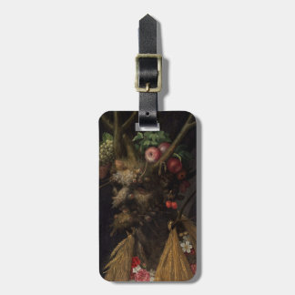 Four Seasons in the One Head, c.1590 2 Luggage Tag