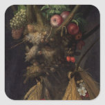 Four Seasons in the One Head, c.1590 2 Square Sticker