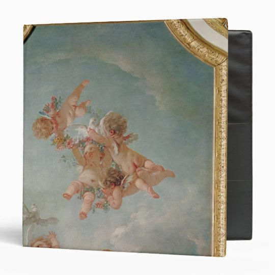 Four Seasons in the Salle du Conseil  - Spring 3 Ring Binder