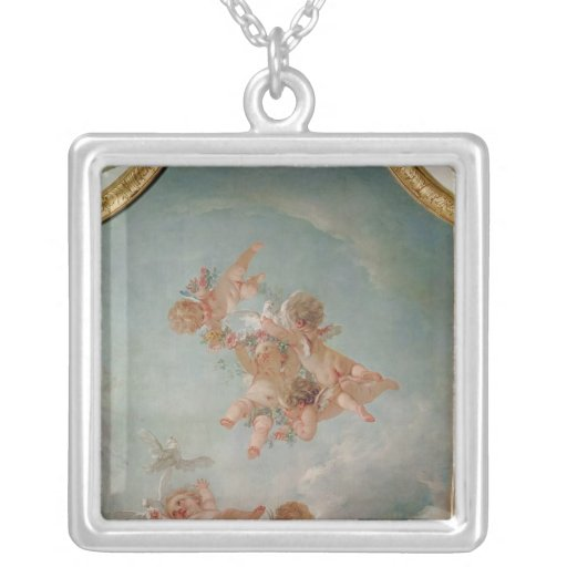 Four Seasons in the Salle du Conseil  - Spring Necklace