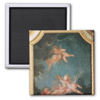 Four Seasons in the Salle du Conseil  - Winter Magnet
