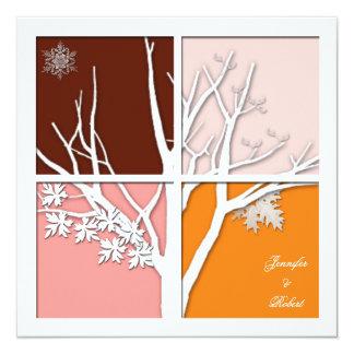 Four Seasons Invitation
