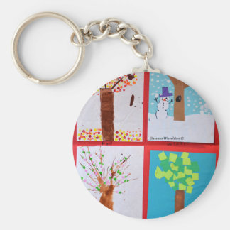 Four Seasons Keychain