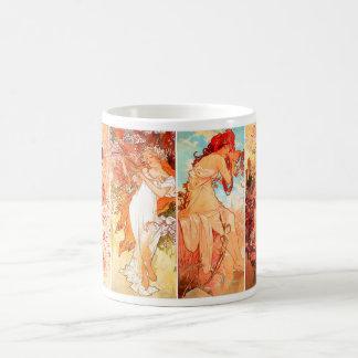 Four Seasons original series Mucha mug