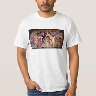 Four Seasons Personified by Women T-Shirt