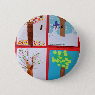Four Seasons Pinback Button