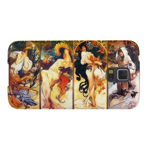 Four Seasons Samsung Gallaxy S5 case Galaxy S5 Cover