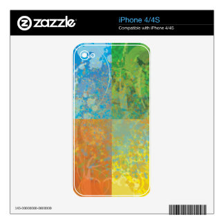 Four Seasons Decals For The iPhone 4S