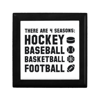 Four Seasons Sports Jewelry Box