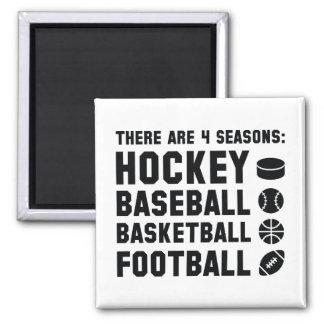 Four Seasons Sports Magnet