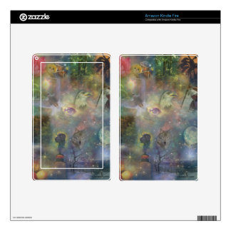 Four Seasons - Spring Summer Winter Fall Decal For Kindle Fire