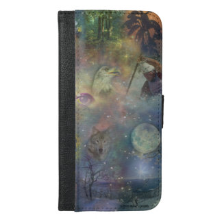 Four Seasons - Spring Summer Winter Fall iPhone 6/6s Plus Wallet Case