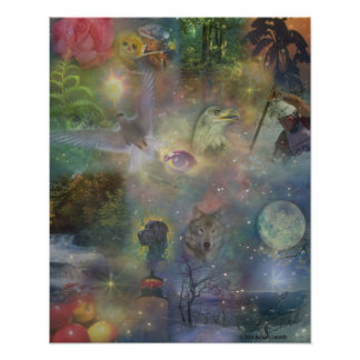 Four Seasons - Spring Summer Winter Fall Poster