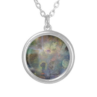 Four Seasons - Spring Summer Winter Fall Silver Plated Necklace