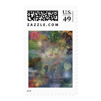 Four Seasons - Spring Summer Winter Fall Stamps