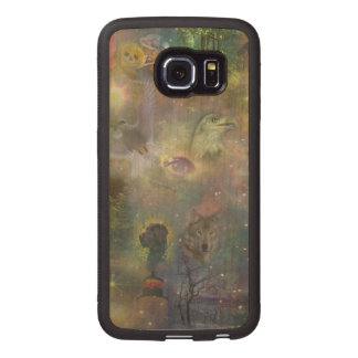 Four Seasons - Spring Summer Winter Fall Wood Phone Case