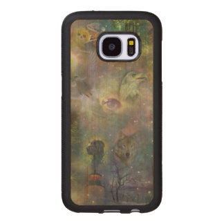 Four Seasons - Spring Summer Winter Fall Wood Samsung Galaxy S7 Case