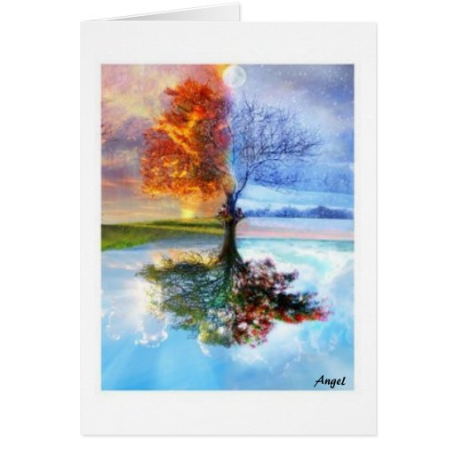Four Seasons Stationery Note Card