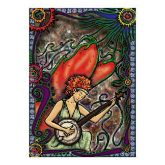 Four Seasons - Summer Faerie Poster