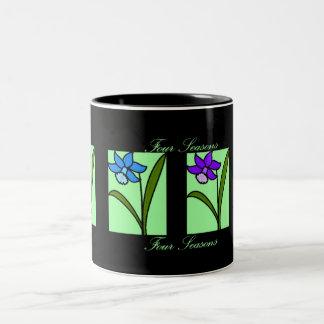Four Seasons-: Two-Tone Mug