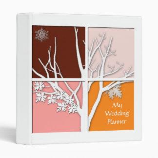 Four Seasons Wedding Planner Binder