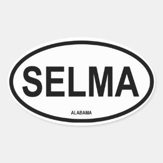 FOUR Selma, Alabama Oval Sticker