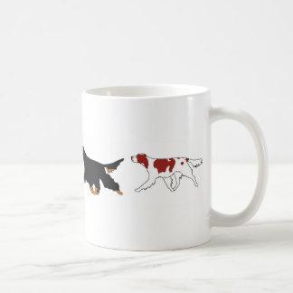Four Setters Coffee Mug