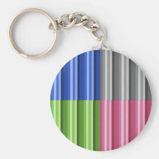 Four Shades Keychain