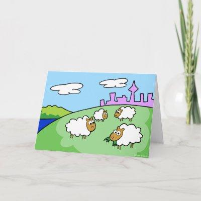 Cartoon Grassy Hill