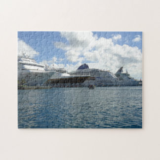 Four Ships Jigsaw Puzzle