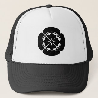 Four side Japanese quince Trucker Hat