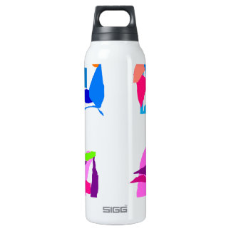 Four 16 Oz Insulated SIGG Thermos Water Bottle
