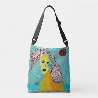 Four Sisters and a Melting Face Crossbody Bag